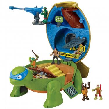 Игровой набор TMNT Черепашки-Ниндзя Micro Леонардо Суперпанцирь Фото 3