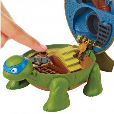 Игровой набор TMNT Черепашки-Ниндзя Micro Леонардо Суперпанцирь Фото 4