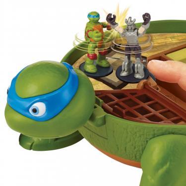 Игровой набор TMNT Черепашки-Ниндзя Micro Леонардо Суперпанцирь Фото 5