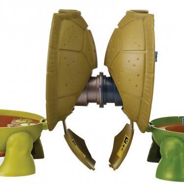 Игровой набор TMNT Черепашки-Ниндзя Micro Леонардо Суперпанцирь Фото 6