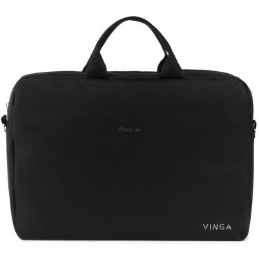 "Сумка для ноутбука Vinga 15.6"" NB105BK black (NB105BK) - фото 2"