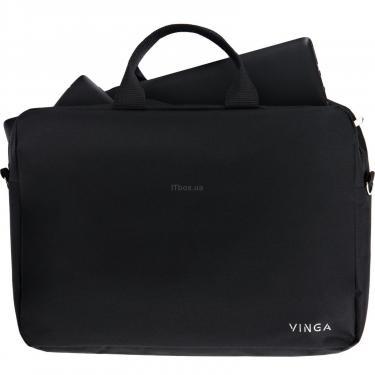 "Сумка для ноутбука Vinga 15.6"" NB105BK black (NB105BK) - фото 3"