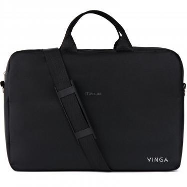 "Сумка для ноутбука Vinga 15.6"" NB105BK black (NB105BK) - фото 4"
