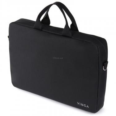 "Сумка для ноутбука Vinga 15.6"" NB105BK black (NB105BK) - фото 5"