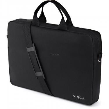 "Сумка для ноутбука Vinga 15.6"" NB105BK black (NB105BK) - фото 8"