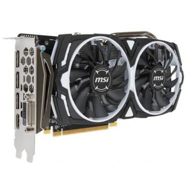 Видеокарта MSI Radeon RX 570 8192Mb ARMOR OC (RX 570 ARMOR 8G OC) - фото 3