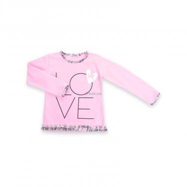 """Пижама Matilda с сердечками """"Love"""" (7585-104G-pink) - фото 2"""