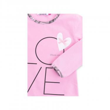 """Пижама Matilda с сердечками """"Love"""" (7585-104G-pink) - фото 8"""