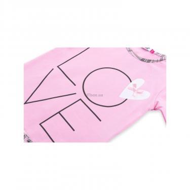 """Пижама Matilda с сердечками """"Love"""" (7585-104G-pink) - фото 9"""