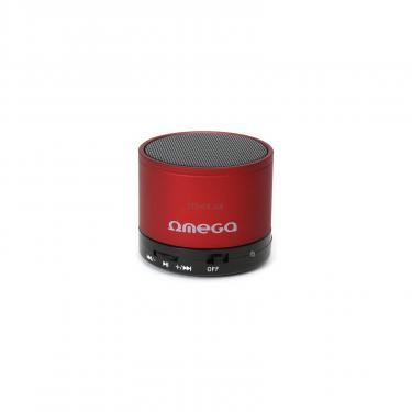 Акустическая система OMEGA Bluetooth OG47R red (OG47R) - фото 1