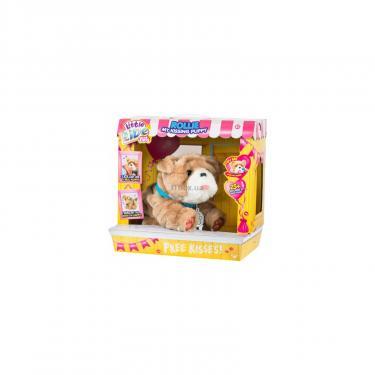 Интерактивная игрушка Moose Little Live Pets Щенок Ролли Люблю целоваться Фото 3