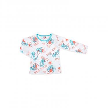 Пижама Breeze с кактусами (10020-116B-white) - фото 2