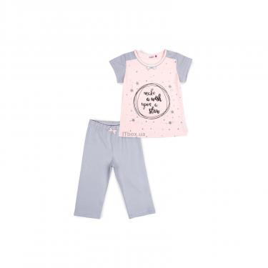 Пижама Matilda со звездочками (7991-164G-pink) - фото 1