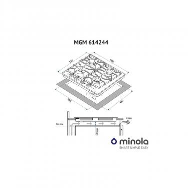 Варочная поверхность Minola MGM 614244 BL Фото 2