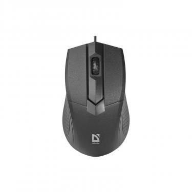 Мишка Defender Optimum MB-270 Black (52270) - фото 1