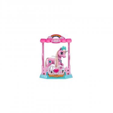 Интерактивная игрушка Pets & Robo Alive Pets Alive Розовый единорог в домике Фото 4