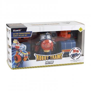 Игровой набор Silverlit Robot Trains Виктор Фото