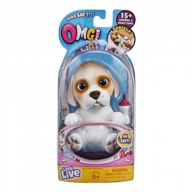 Интерактивная игрушка Moose Soft Hearts Новорожденный щенок Beega Фото 3