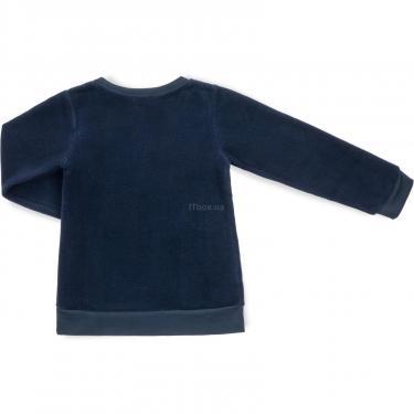 """Пижама Matilda флисовая """"FOOTBALL ACADEMY"""" (7536-3-116B-blue) - фото 5"""