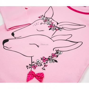 Пижама Matilda с оленями (10817-3-128G-pink) - фото 7