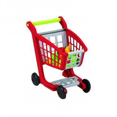 Игровой набор Ecoiffier Тележка для супермаркета с продуктами Фото