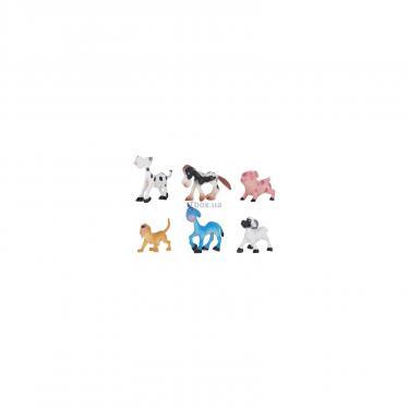 Игровой набор Dingua Зверюшки с фермы 6 шт Фото 1
