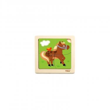 Пазл Viga Toys Лошадь Фото