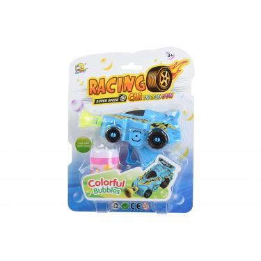 Игровой набор Same Toy Мыльные пузыри Bubble Gun Машинка Голубая Фото 1