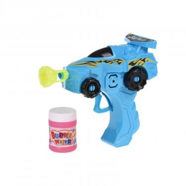 Игровой набор Same Toy Мыльные пузыри Bubble Gun Машинка Голубая Фото