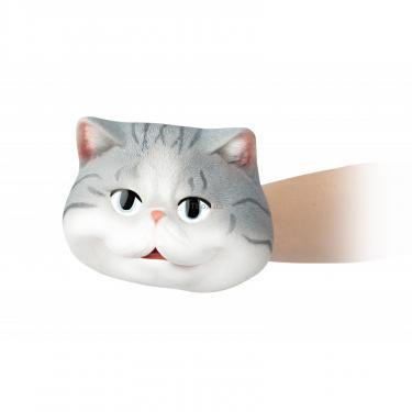 Игровой набор Same Toy рукавичка Кот серый Фото 4