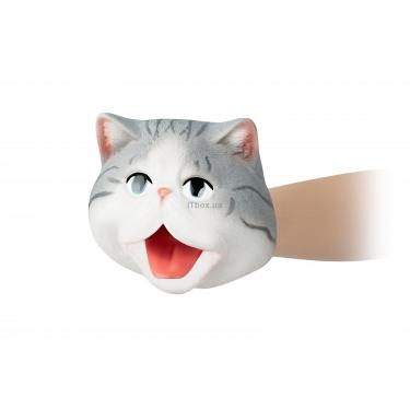 Игровой набор Same Toy рукавичка Кот серый Фото 5