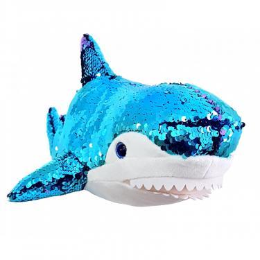 Мягкая игрушка Fancy Акула подруга Blahaj с пайетками 49 см Фото 1