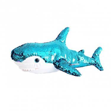 Мягкая игрушка Fancy Акула подруга Blahaj с пайетками 49 см Фото