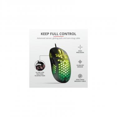 Мышка Trust GXT 960 Graphin Ultra-lightweight RGB USB Black Фото 7