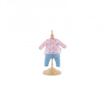Аксессуар к кукле Corolle Набор одежды - блузка и штанишки Весенние цветы 36 Фото