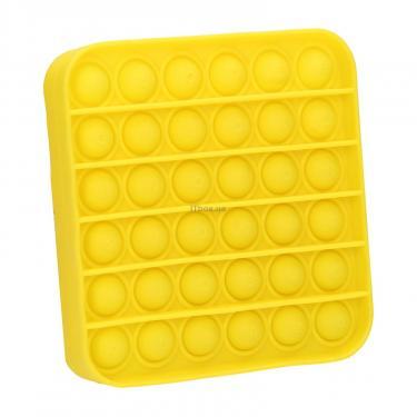Игровой набор Sibelly антистресс Pop It Mono Square Yellow Фото 1