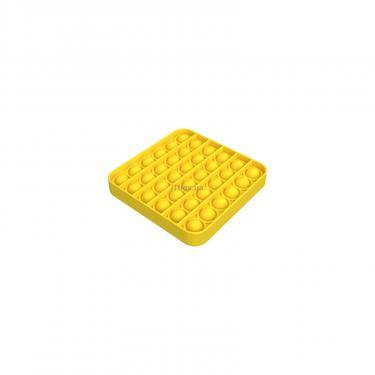 Игровой набор Sibelly антистресс Pop It Mono Square Yellow Фото 2