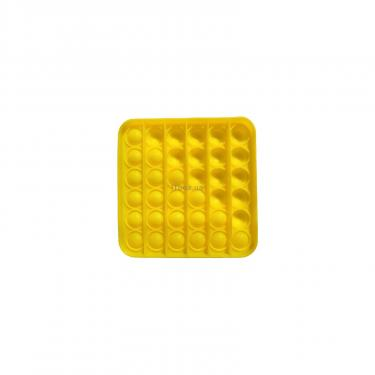 Игровой набор Sibelly антистресс Pop It Mono Square Yellow Фото