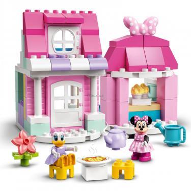 Конструктор LEGO DUPLO Disney Дом и кафе Минни 91 деталь Фото 2