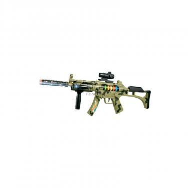 Игрушечное оружие ZIPP Toys Автомат свето-звуковой Быстрый гепард , камуфляж Фото