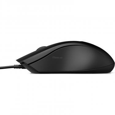 Мышка HP 100 USB Black Фото 2