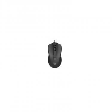 Мышка HP 100 USB Black Фото