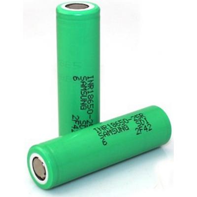 Аккумулятор 18650 2500 mAh (35A) Samsung (INR18650-25R)