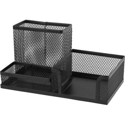 Подставка для мелочей Axent 203x105x100мм, wire mesh, black (2116-01-A)