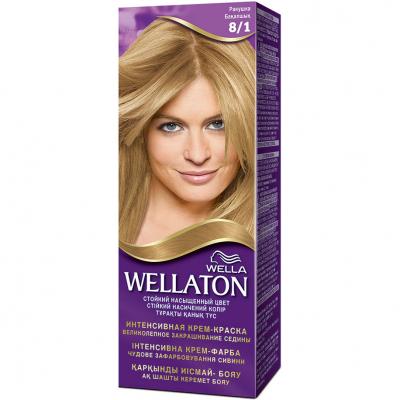 Крем-краска для волос Wellaton стойкая 8/1 Ракушка (4056800023301)
