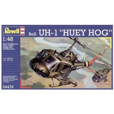 Сборная модель Revell Вертолет Bell UH-1C/B Huey Hog 1:48 (4476)