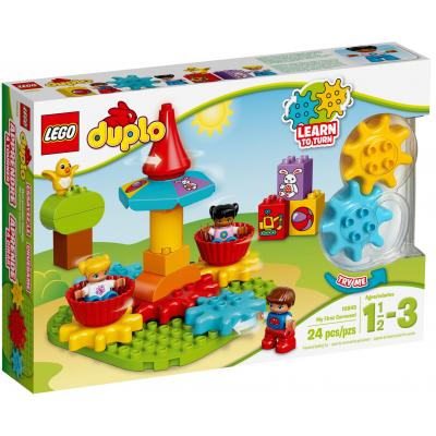 Конструктор LEGO Duplo Моя первая карусель (10845)
