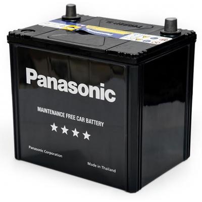 Аккумулятор автомобильный PANASONIC 65Ah, 491A (N-75D23L-FH)