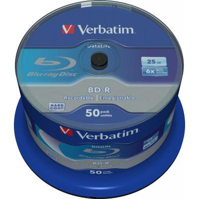 Диск BD-R Verbatim 25Gb 6x Cacke 50шт Datalife (43838)